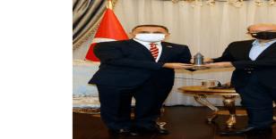 Beyoğlu Belediye Başkanı Yıldız, KKTC Cumhurbaşkanı Tatar ve Başbakan Saner tarafından kabul edildi