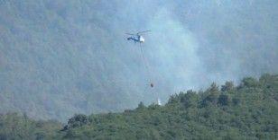 Hatay'da orman yangınına 3'üncü günde de müdahale sürüyor