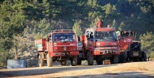 Mersin'deki orman yangınına 3. gününde havadan ve karadan müdahale sürüyor