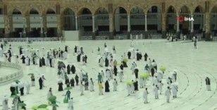 Hacı adayları Kâbe'de ilk tavaflarını yaptı