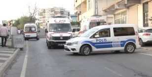 Maltepe'de, 15 metre yüksekten yuvarlanan araçtan atlayarak kurtuldu