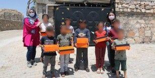 İhtiyaç sahibi çocukların bayramlığı Mardin Büyükşehir Belediyesi'nden