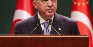 """Cumhurbaşkanı Erdoğan: """"Aşılarımızı olarak, bu sinsi tehdide karşı kendimizi korumaya almamız şarttır"""""""