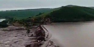 Çin'in İç Moğolistan bölgesinde iki baraj çöktü