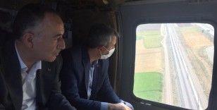 43 ilin geçiş noktası helikopterle havadan denetlendi: Bayramın ilk gününde yollar sakin