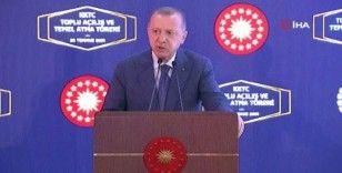 """Cumhurbaşkanı Erdoğan, """"Kardeşliğimizi perçinliyoruz"""""""