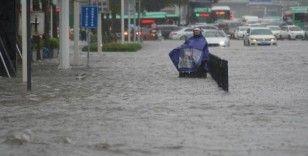 Çin'deki sel felaketi: 12 ölü