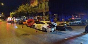 Başkent'te zincirleme trafik kazası: 7 yaralı