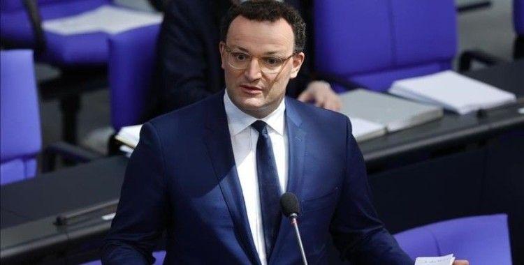 Almanya Sağlık Bakanı Spahn: Kovid-19 vakalarında ciddi artış yaşanabilir