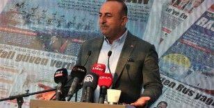 """Bakan Çavuşoğlu: """"KKTC'nin haklarını sonuna kadar savunacağız"""""""