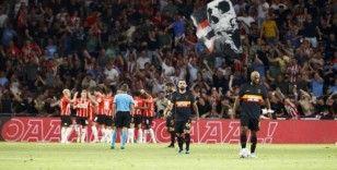 Galatasaray, PSV Eindhoven'e farklı yenildi