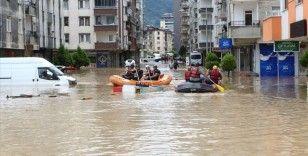 Arhavi'de yaklaşık 450 kişi tahliye edildi