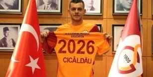 Alexandru Cicaldau resmen Galatasaray'da