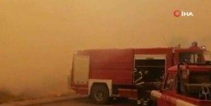 İtalya'nın Sardunya Adası'nda büyük yangın