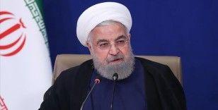 İran Cumhurbaşkanı Ruhani: Meclis bize engel olmasaydı, geçen yıl sonu itibarıyla yaptırımlar kalkmıştı