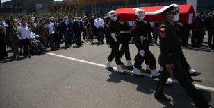 Şehit İstihkam Astsubay Çavuş Fatih Güney son yolculuğuna uğurlandı