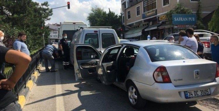 Safranbol'da zincirleme kaza: 2 yaralı