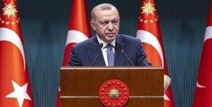Erdoğan: Sel felaketinin yol açtığı yıkımı ortadan kaldırmak, yaraları sarmak için tüm adımları atmaya devam ediyoruz