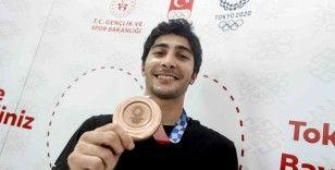 """Milli tekvandocu Hakan Reçber: """"Elimden geleni yaptım ve bronz madalyayı kazandım"""""""