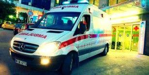 Hatalı dönüş yapan otomobile motosiklet çarptı: 1 ölü, 1 yaralı