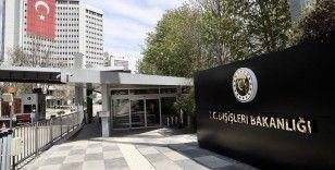 Dışişleri Bakanlığı, AB adına Maraş konusunda yapılan açıklamayı kınadı
