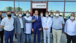 Diyarbakır'da MHP il başkanlığından aşı kampanyasına destek