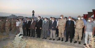 Şehit Binbaşı Arslan Kulaksız Malazgirt'te anıldı