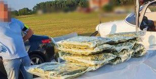 Eğitim uçağıyla İspanya'dan Polonya'ya uyuşturucu sevkiyatı