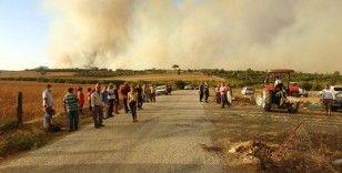 Yangın bölgesinde köylülerin tedirgin bekleyişi sürüyor