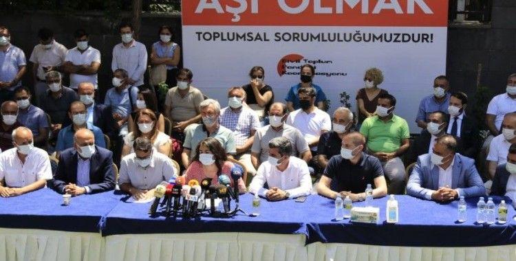 Diyarbakır'daki STK'lardan çağrı: Aşı olalım, salgını birlikte aşalım