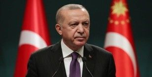 Cumhurbaşkanı Erdoğan'dan şehit askerlerin ailelerine başsağlığı mesajı