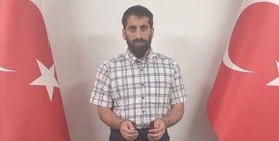 Kırmızı bültenle aranan PKK/KCK üyesi Cimşit Demir, MİT'in operasyonuyla Türkiye'ye getirildi