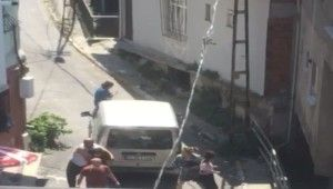 Beyoğlu'nda 4 kişinin öldürüldüğü dehşet anları kamerada