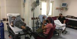 Manavgat ve Akseki'deki orman yangınlarından etkilenen 239 kişi hastanelere başvurdu