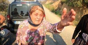 Mersin Aydıncık'taki yangından etkilenenler yaşadıklarını anlattı