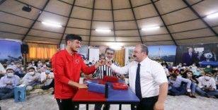 Şanlıurfalı milli sporcu Abdulsamet Türkiye 2.si oldu