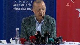 Cumhurbaşkanı Erdoğan: Yanan her yeri daha fazlasıyla tekrar ağaçlandırmak en başta gelen görevimizdir