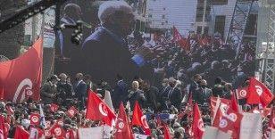 Tunus'ta Nahda Hareketinden Cumhurbaşkanı'na ülkede 'anayasal sürece dönülmesi' çağrısı