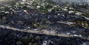 Karayolları ekipleri yangında mahsur kalanların kurtarılmasında etkin rol oynuyor