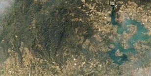 Manavgat ve Marmaris'teki orman yangınları Göktürk-1 ve Göktürk-2 uydularınca fotoğraflandı