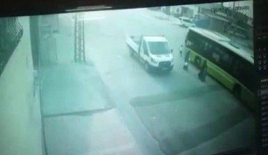 Yolun karşısına geçerken otobüs çarpan çocuk hayatını kaybetti