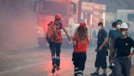 Muğla'daki yangının gizli kahramanları yoğun çaba sarf ediyor