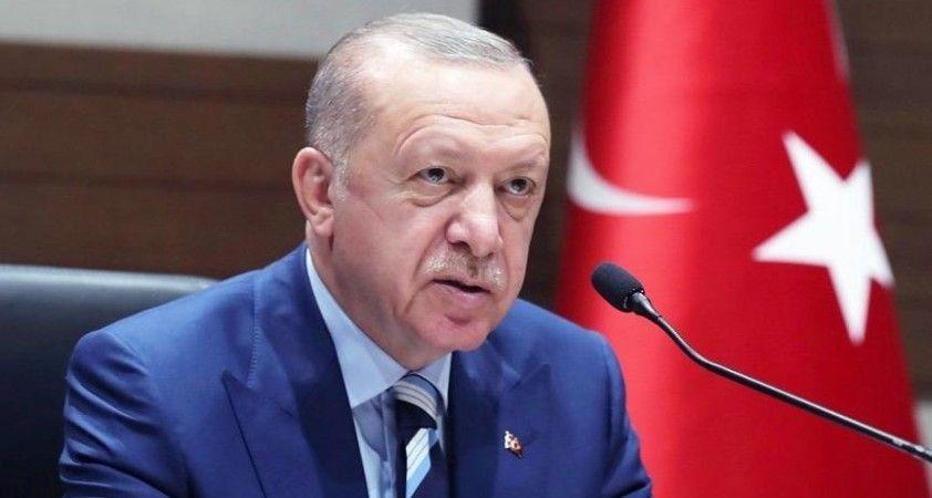 Erdoğan: Termik santral yanma tehdidi ile karşı karşıya, aşırı rüzgar olmasa söndürmek daha kolay