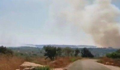 İsrail'den Lübnan'a topçu saldırısı