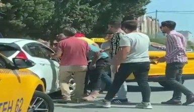 Taksiciler kadın sürücü adayının yolunu kesti, dehşeti yaşattı