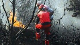 AKUT'un orman yangınlarındaki tahliye çalışmaları sürüyor