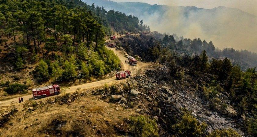 Bakan Koca, yangınlar nedeniyle Antalya ve Muğla'da toplam 16 kişinin tedavisinin sürdüğünü bildirdi
