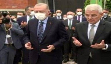 Cumhurbaşkanı Erdoğan, Aliya İzzetbegoviç'in kabrini ziyaret etti