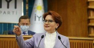 Akşener'den cumhurbaşkanı adaylığı açıklaması: Türkiye'nin önünü tıkayan şahıs ben olmayacağım