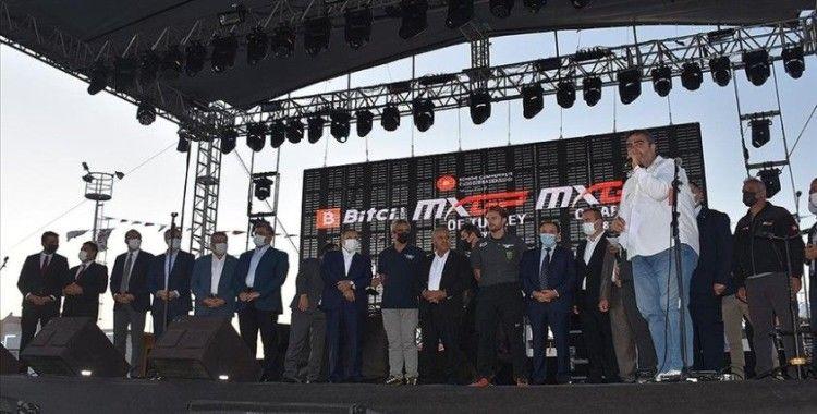 Dünya Motokros Şampiyonası'nın açılış seremonisi yapıldı